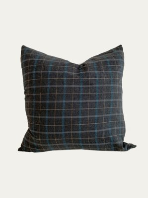 CLASSIC CHECK GREY CUSHION